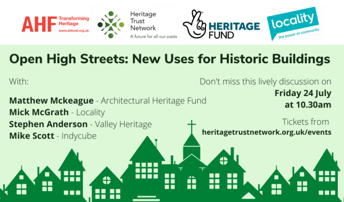 Open High Streets: New Uses for Historic Building event