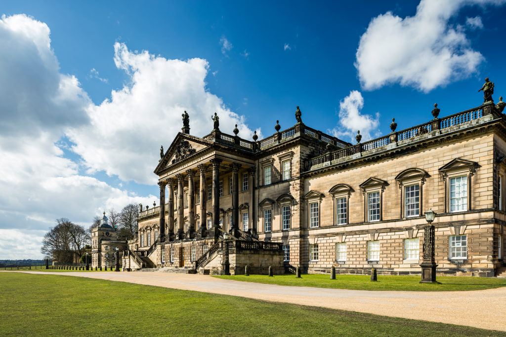 The Palladian East Front of Wentworth Woodhouse