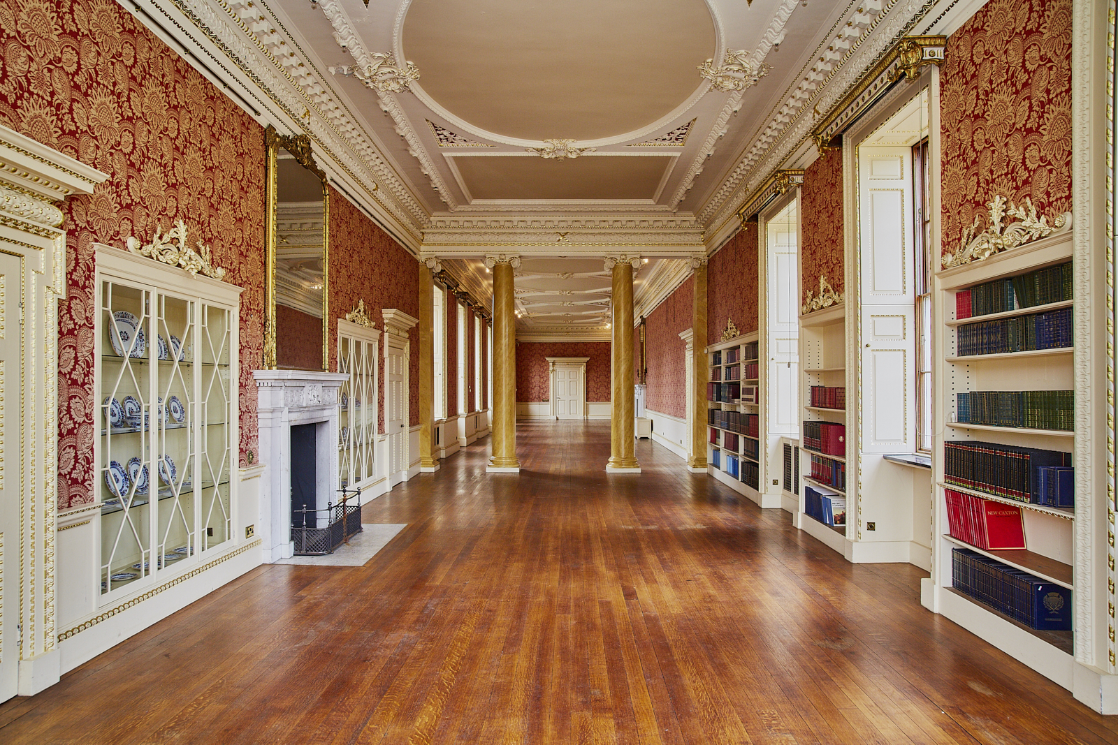 The Long Gallery at Wentworth Woodhouse