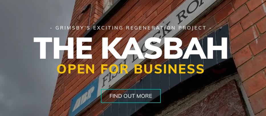 A screenshot of the new Kasbah website